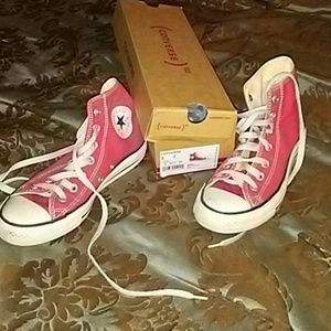 SOLD....Red converse